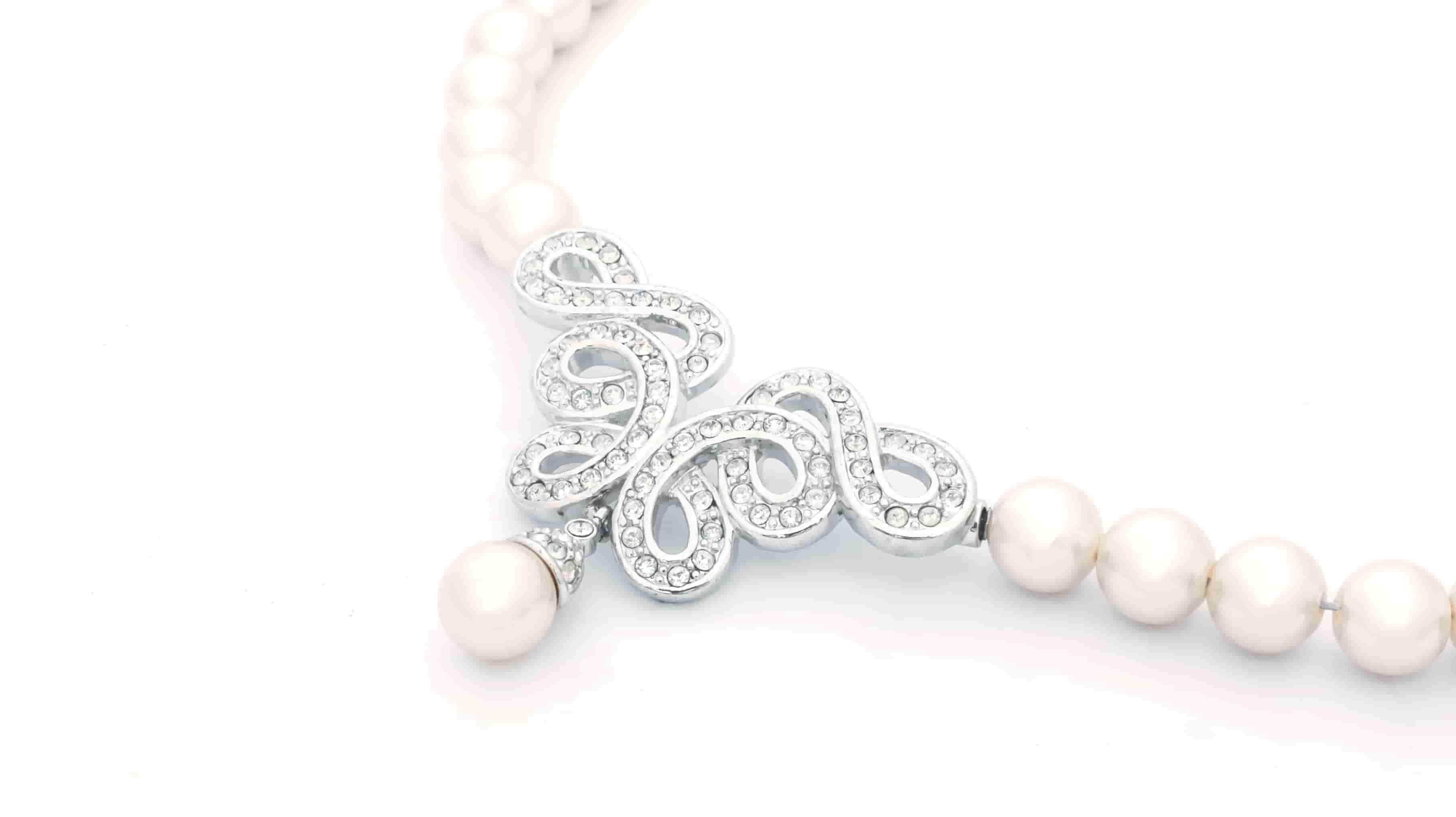 鑲珍珠-晚裝裙