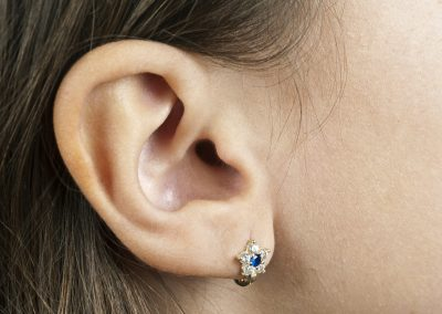 Human Ear earring (206)
