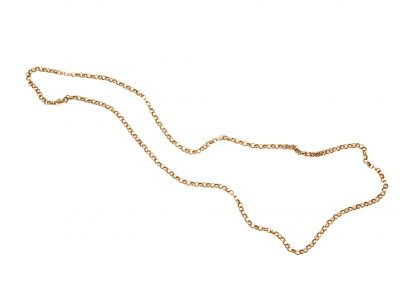 Gold chain necklance (206)