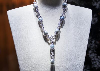 Diamants. Grain added necklace (206)