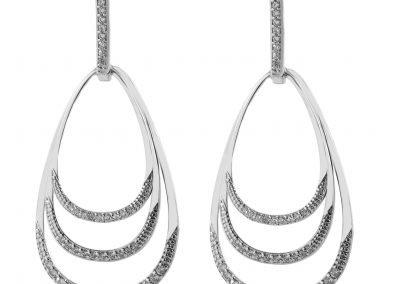 brinco pingente prata earring (206)