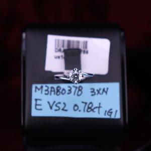 IGI證書產品 E色 , VS2淨度 , 0.78卡 3EX None