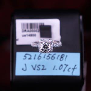 GIA證書產品 J色 , VS2淨度 , 1.07卡