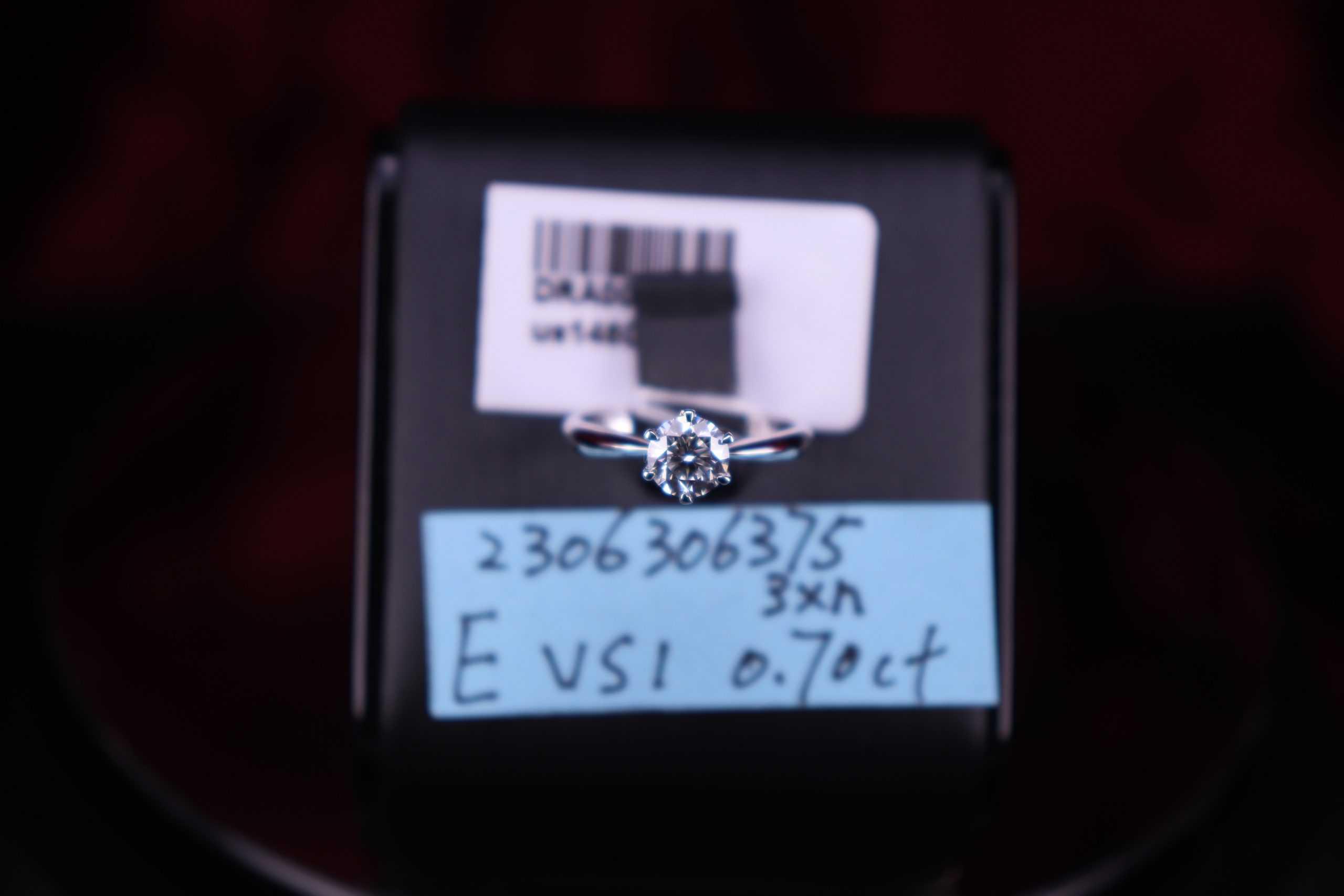 GIA證書產品 E色 , VS1淨度 , 0.70卡 3EX None