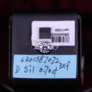 GIA證書產品 D色 , VS2淨度 , 1.01卡