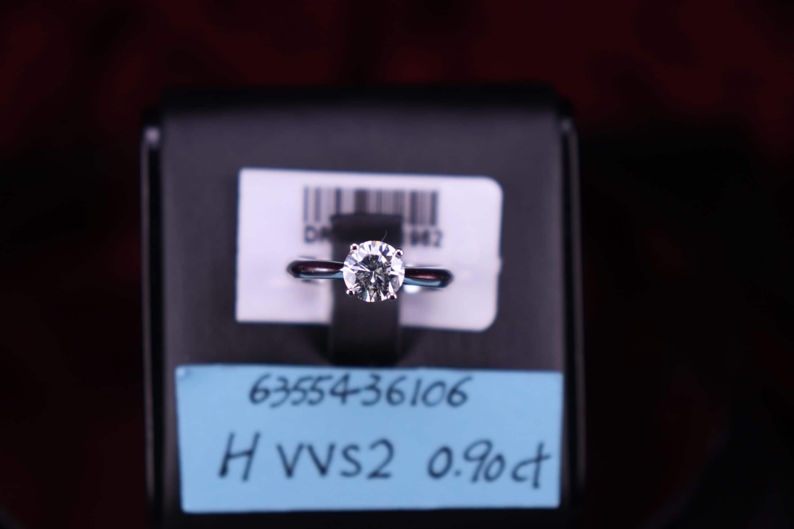GIA證書產品 H色 , VVS2淨度 , 0.90ct