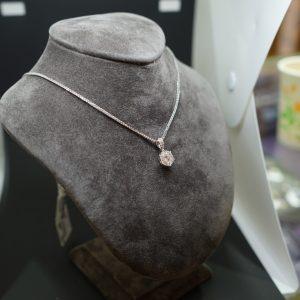 圓形鑽石項鍊