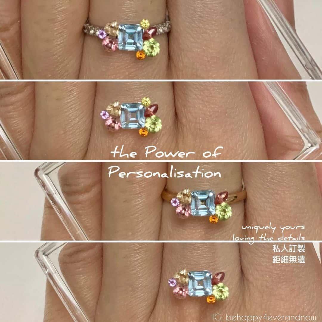 訂製天然彩色寶石首飾/戒指/吊墜/頸鏈