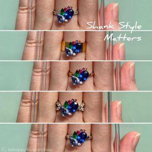 訂造戒指天然寶石半寶石戒指