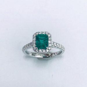 哥倫比亞綠寶石戒指